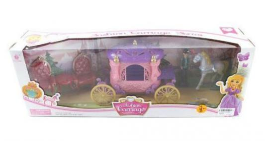 Игровой набор Shantou Gepai Карета с лошадью в ассортименте