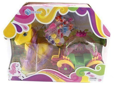 Игровой набор Shantou Gepai Пони с каретой и аксессуарами в ассортименте