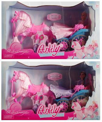 Игровой набор Shantou Gepai Карета с лошадью и куклой в ассортименте