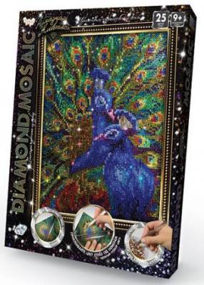 Набор креативного творчества ДАНКО-ТОЙС Diamond Mosaic - Павлин от 9 лет набор для творчества данко тойс my color clutch пони от 5 лет