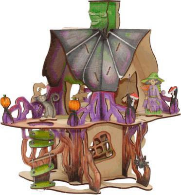 Конструктор Woody Замок колдуньи 46 элементов