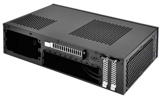 Корпус mini-ITX SilverStone Milo ML09B Без БП чёрный