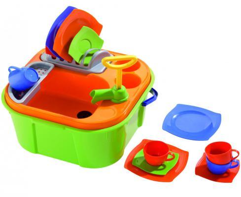 Купить Набор Полесье Мини-посудомойка, разноцветный, Детская бытовая техника