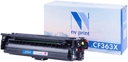 Картридж NV-Print CF363X для HP LaserJet Color M552dn/M553dn/M553n/M553x/MFP-M577dn/M577f/Flow M577c 9500стр Пурпурный