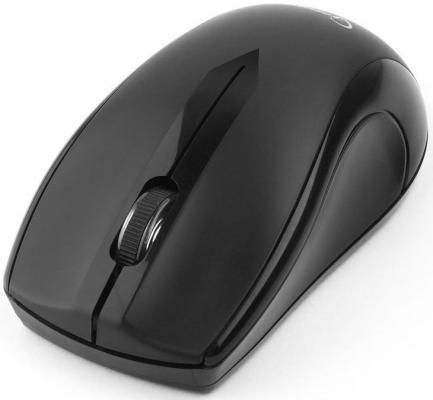 Мышь беспроводная Gembird MUSW-320 чёрный USB беспроводная мышь gembird musw 207w white usb белый
