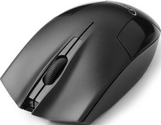 Мышь беспроводная Gembird MUSW-300 чёрный USB беспроводная мышь gembird musw 207w white usb белый