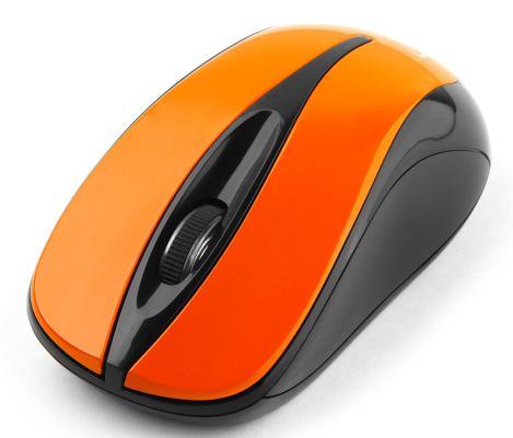 Мышь беспроводная Gembird MUSW-325-O оранжевый USB