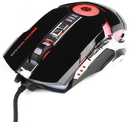Мышь проводная Gembird MG-530 чёрный USB цена