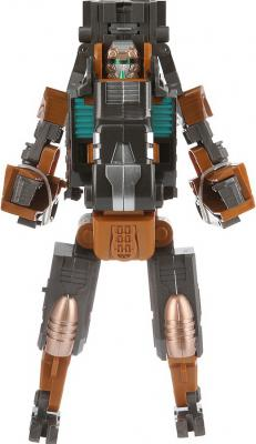 Робот-бластер Shantou Gepai Трансформер с мягкими пулями коричневый 61254