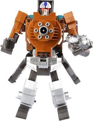 Робот-бластер Shantou Gepai Трансформер с мягкими пулями оранжевый 61255