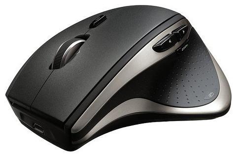 Мышь беспроводная Logitech Wireless Mouse Perfomance MX чёрный USB + радиоканал 910-004808