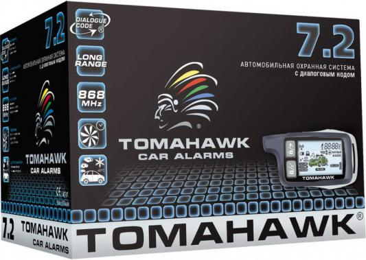 Автосигнализация Tomahawk 7.2 автосигнализация pharaon v24