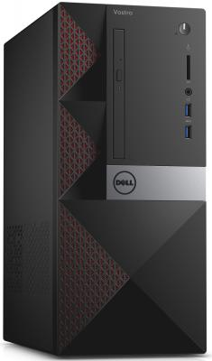 Системный блок DELL Vostro 3650 MT i5-6400 2.7GHz 4Gb 1Tb R9 360-2Gb DVD-RW Win10Pro клавиатура мышь черный 3650-8333