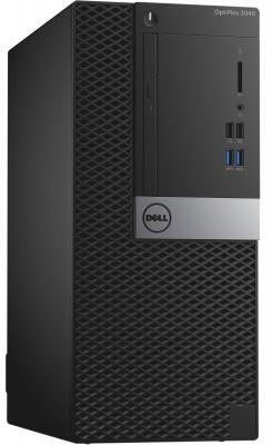 Системный блок DELL Optiplex 7040 MT i7-6700 3.4GHz 8Gb 256Gb SSD R7 350X-4Gb DVD-RW Win10Pro клавиатура мышь серебристо-черный 7040-8470