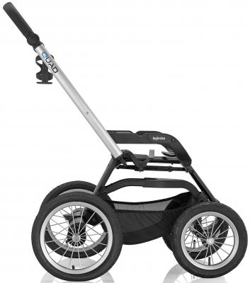 Коляска для новорожденного Inglesina Sofia на шасси Quad XT Black (AB15E6DAL + AE64G0000)  - купить со скидкой