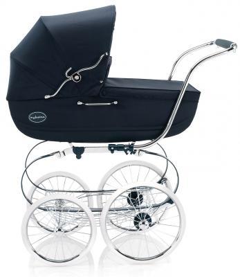 Коляска для новорожденного Inglesina Classica на шасси Balestrino ChromeIvory (AB05E0MAR + AE05E3100)