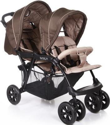 Коляска для двойни Baby Care Tandem (brown/grey)