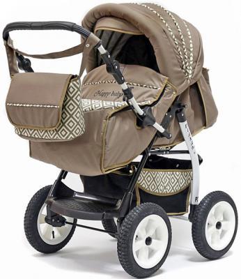 Коляска прогулочная Teddy BartPlast Diana 2016 PKL (RO02/бежевый) прогулочная коляска teddy bartplast etude pklo 07 коричневый