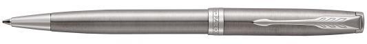 Фото - Шариковая ручка поворотная Parker Sonnet Core K526 Stainless Steel CT черный M 1931512 шариковая ручка поворотная parker sonnet core k429 slim matte black ct черный m 1931525