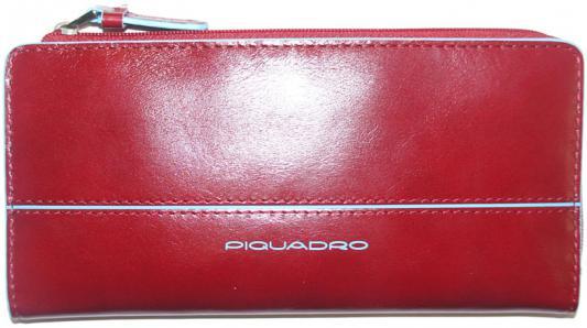 Портмоне Piquadro Blue Square кожа красный AS458B2/R