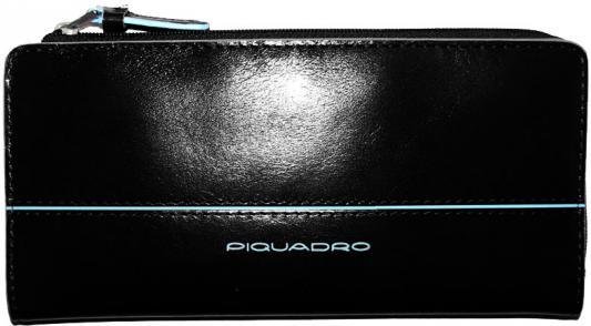 Портмоне Piquadro Blue Square кожа черный AS458B2/N