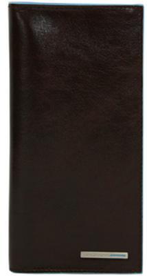 Портмоне Piquadro Blue Square кожа коричневый AS341B2/MO