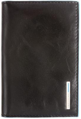 Обложка для паспорта Piquadro Blue Square кожа черный AS300B2/N