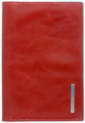 Обложка для паспорта Piquadro Blue Square кожа красный AS300B2/R