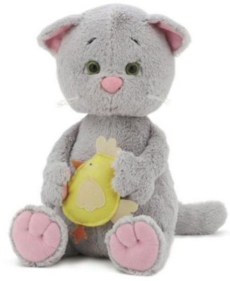 Мягкая игрушка котенок ORANGE Котенок Мяу текстиль серый 30 см