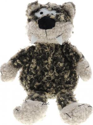 Мягкая игрушка кот Jackie Chinoco Флойд искусственный мех текстиль серый 27 см