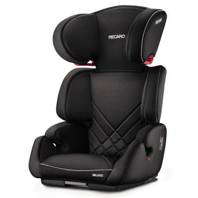 Автокресло Recaro Milano Seatfix (perfomance black)