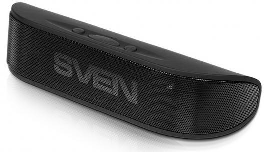 Портативная акустика Sven PS-70BL 6Вт Bluetooth черный портативная акустика sven ps 190 10вт bluetooth черный серебристый
