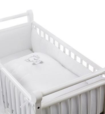 Купить Комплект постельного белья для Geuther Elephant (белый), 80 х 80 см, Сменное постельное белье