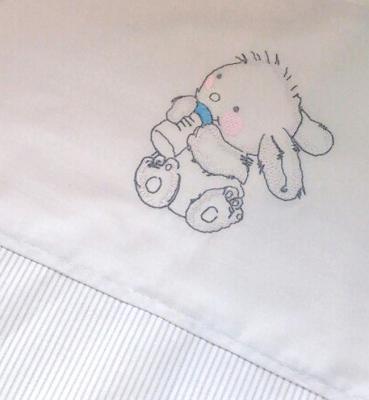 Купить Комплект постельного белья для Geuther Rabbit (белый), 80 х 80 см, Сменное постельное белье