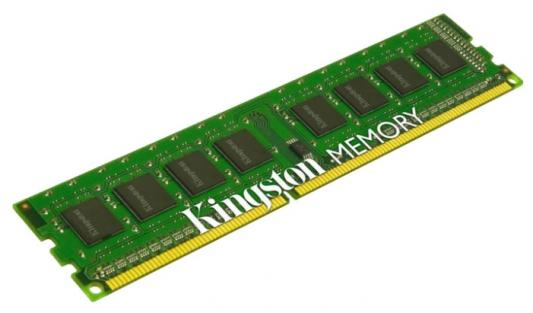 Оперативная память 4Gb PC3-12800 1600MHz DDR3 DIMM Kingston KVR16N11S8/4BK ОЕМ