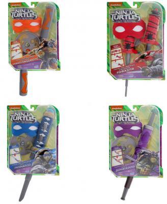 Игровой набор TMNT TMNT Черепашки Ниндзя игровой набор tmnt черепашки ниндзя микиланджело от 4 лет 3 предмета 90835