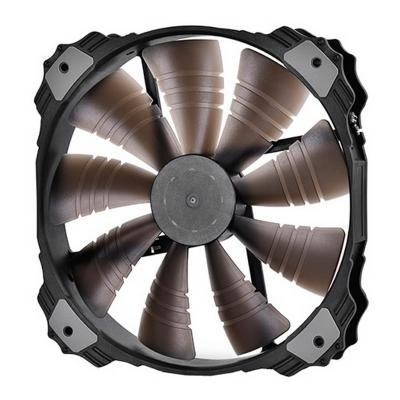 Вентилятор Deepcool XFAN 200BL 200x200x32 3pin 26.3dB 700rpm 300g синий LED 300g 100