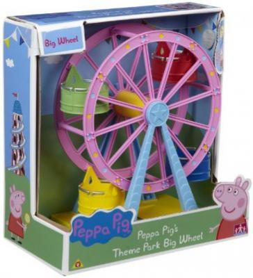 Колесо обозрения Peppa Pig Луна Парк 6 предметов 30400 игровой набор росмэн т м peppa pig водная горка луна парк