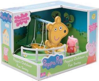 Игровой набор Peppa Pig Игровая площадка: Качели Peppa Pig peppa pig playing football