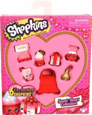 Moose Shopkins Коллекция Сладкое Сердечко 7 предметов  56221