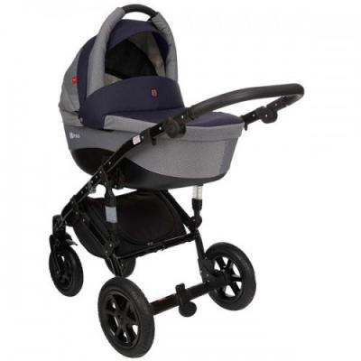 Коляска 2-в-1 Tutek Tirso (цвет ntr11/синий/шасси black) коляска 2 в 1 esspero grand newborn lux шасси black royal silver