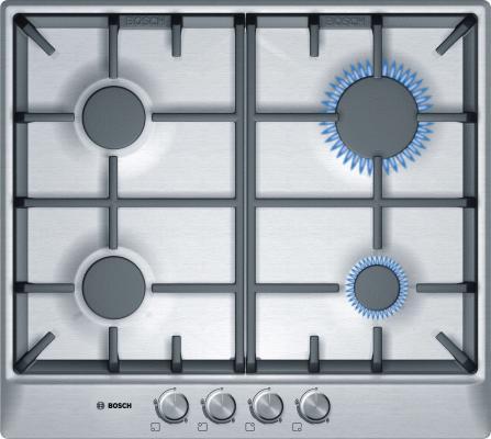 Варочная панель газовая Bosch PCP615B90B серебристый 2 х комнатную квартиру в макеевке украина