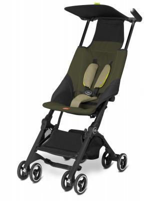 Прогулочная коляска GB Pockit (lizard khaki) коляска gb коляска прогулочная pockit lizard khaki