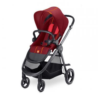 Прогулочная коляска GB Beli Air 4 (dragonfire red) коляска gb коляска прогулочная beli air 4 posh pink