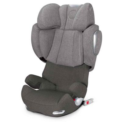 Автокресло Cybex Solution Q3-Fix Plus (manhattan grey) cybex автокресло juno 2 fix 9 18 кг cybex manhattan grey 2016