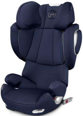 Автокресло Cybex Solution Q3-Fix (midnight blue) автокресло cybex solution x blue moon
