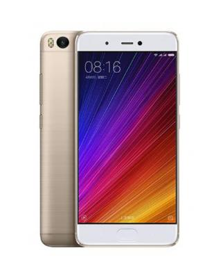 Смартфон Xiaomi Mi5S золотистый 5.15 64 Гб LTE NFC Wi-Fi GPS 3G смартфон zte blade v8 золотистый 5 2 32 гб lte wi fi gps 3g bladev8gold
