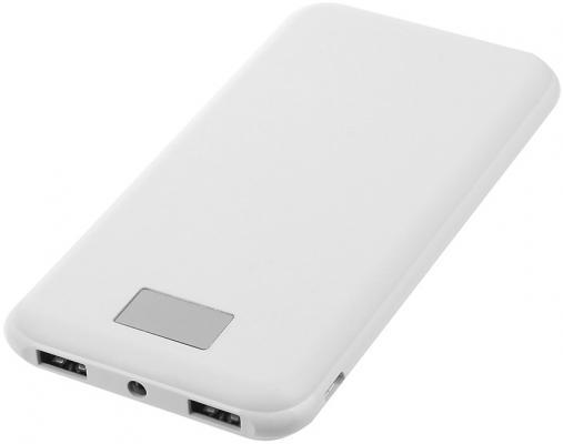 Портативное зарядное устройство Continent PWB80-262WT 8000мАч белый