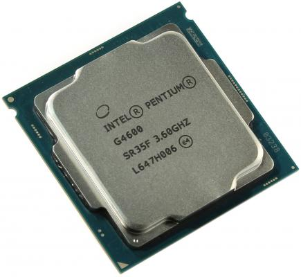 Процессор Intel Pentium G4600 3.6GHz 3Mb Socket 1151 BOX процессор intel pentium g3260 3 3ghz 3mb socket 1150 box