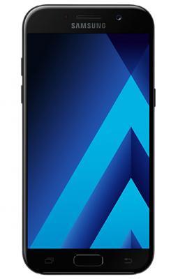 Смартфон Samsung Galaxy A5 Duos 2017 черный 5.2 32 Гб NFC LTE Wi-Fi GPS 3G SM-A520FZKDSER samsung galaxy s4 2 ядра dual 5 дюймов wi fi duos android 4 0 2 sim